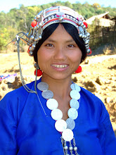 Photo: Akha People in Xieng Khaeng and Muang Sing , Laos
