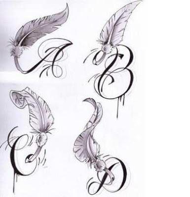 Artistic Tattoo Fonts Ideas - screenshot