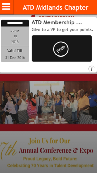 ATD Midlands Chapter- screenshot