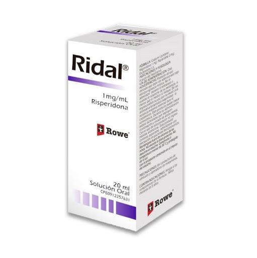 Risperidona Ridal Solución Oral X 20 Ml