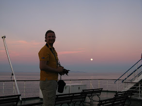 Photo: On the boat for Morocco and the port of Nador