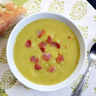 Split Pea, Bacon & Potato Soup.