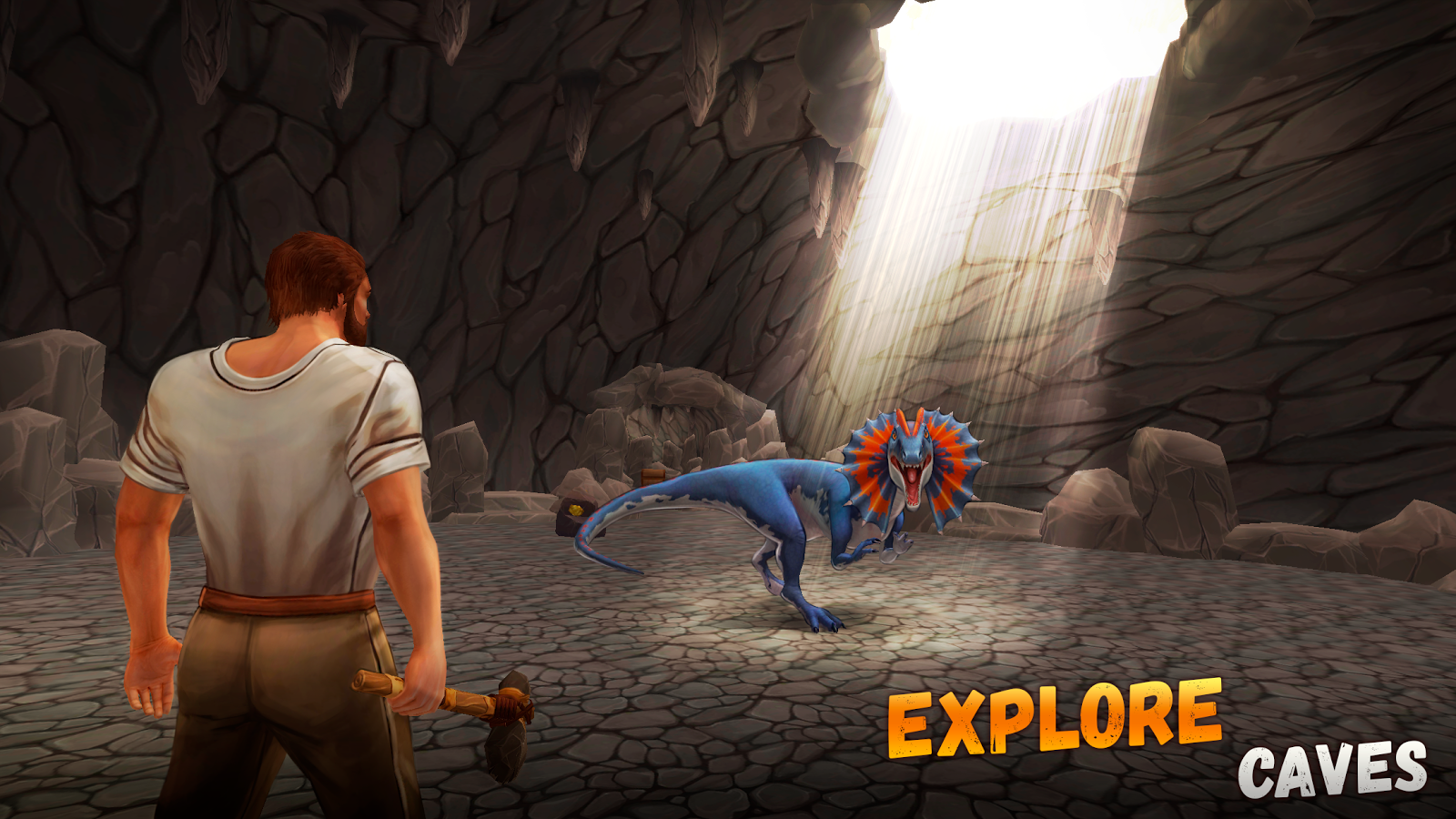 The Ark of Craft 2: Jurassic Survival Island- screenshot