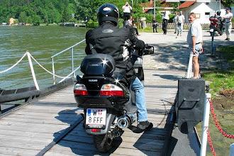 Photo: auf der Donaufähre bei Obermühl, OÖ