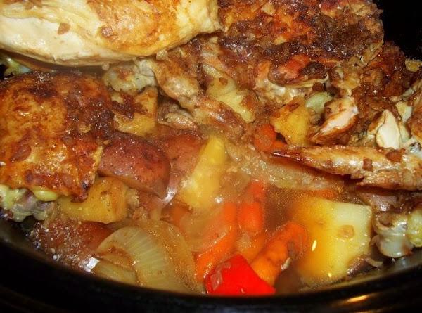 Tasty Chicken N Veggies / Crock Pot Recipe