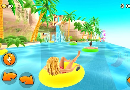 Uphill Rush Water Park MOD (Free Shopping) APK  for Android 1