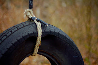 """Photo: Swingin' Since there is no #cartappyoldtiresaturday theme, I hope +Susan Porter and +Simon Kitcher will adopt this orphan for #365project . I drive past this tire swing every day on my way to work. It seems to have been there forever, and every day I think, """"I wonder if it will make a good picture."""" I'll let you all decide that. Happy Saturday!"""