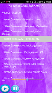 DARA BUBAMARA SONGS - náhled