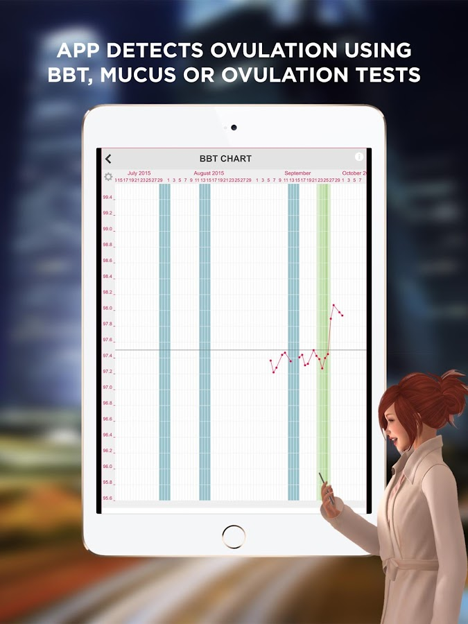 Ovulation & Period Calendar- screenshot
