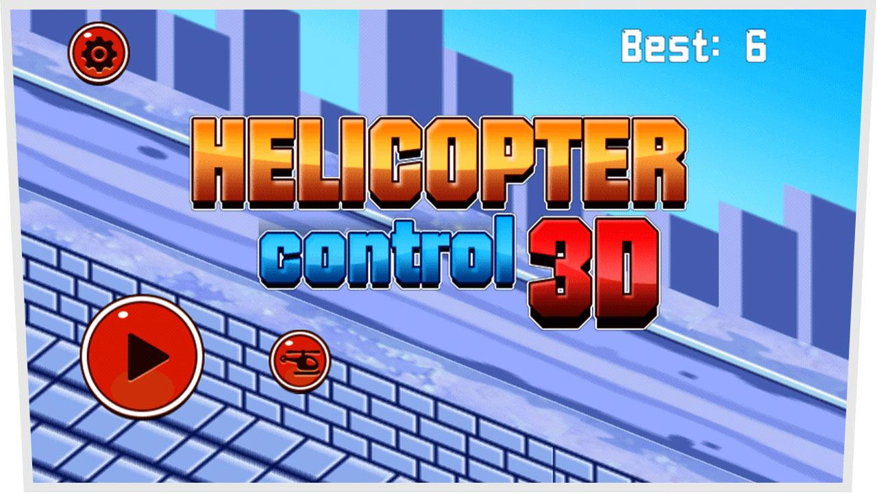 Helicopter Control 3D- screenshot