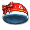 ホーリーレッドな帽子