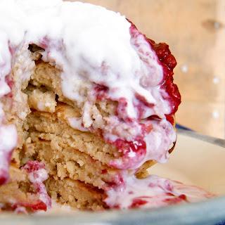 Fluffy Vegan Pancakes (Whole Grain, Refined Sugar-Free) Recipe