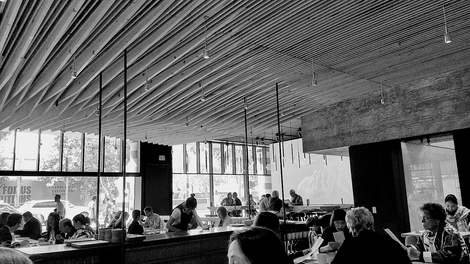 A Meal at In Situ, a restaurant at SF MOMA offering iconic dishes from Michelin restaurants around the world