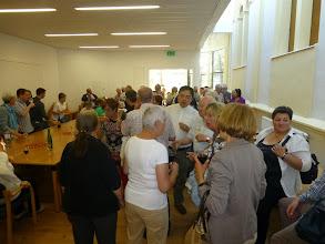 Photo: Im neuen evangelischen Gemeindezentrum