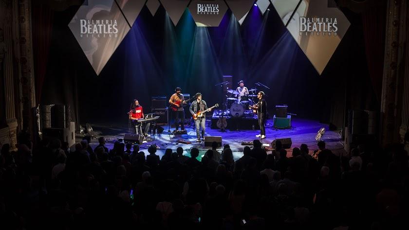 Concierto del 'Almería Beatles Weekend'.