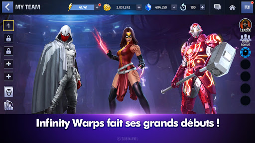 MARVEL Future Fight  captures d'écran 1