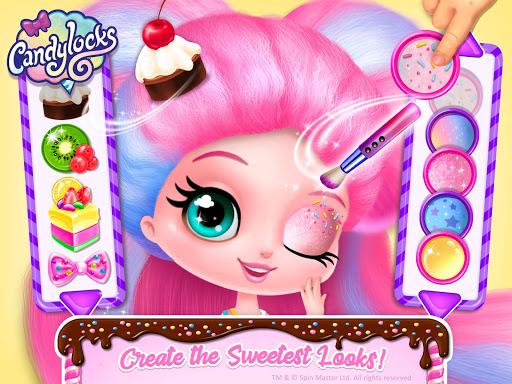 Candylocks Hair Salon - Style Cotton Candy Hair  Wallpaper 13