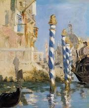 "Photo: Edouard Manet, ""Il Canal Grande a Venezia"""