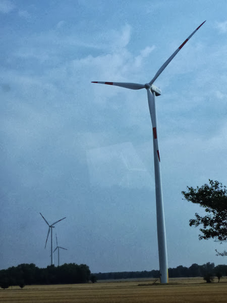 Photo: and wind towers everywhere.