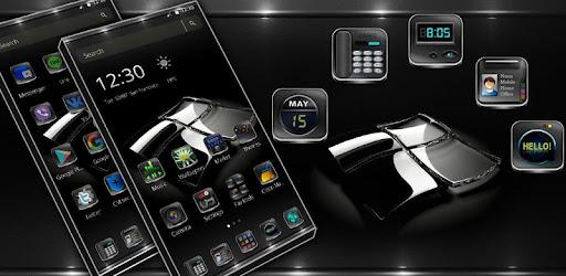 Приложения в Google Play – Reflector <b>Black</b> glass Theme