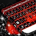 Flames Neon Keyboard icon