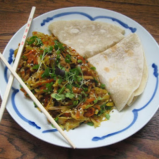 Mu Shu Vegetables (Vegan but you would never know it!)