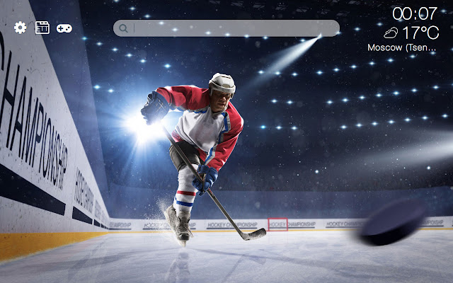 Hockey HD new free tab theme