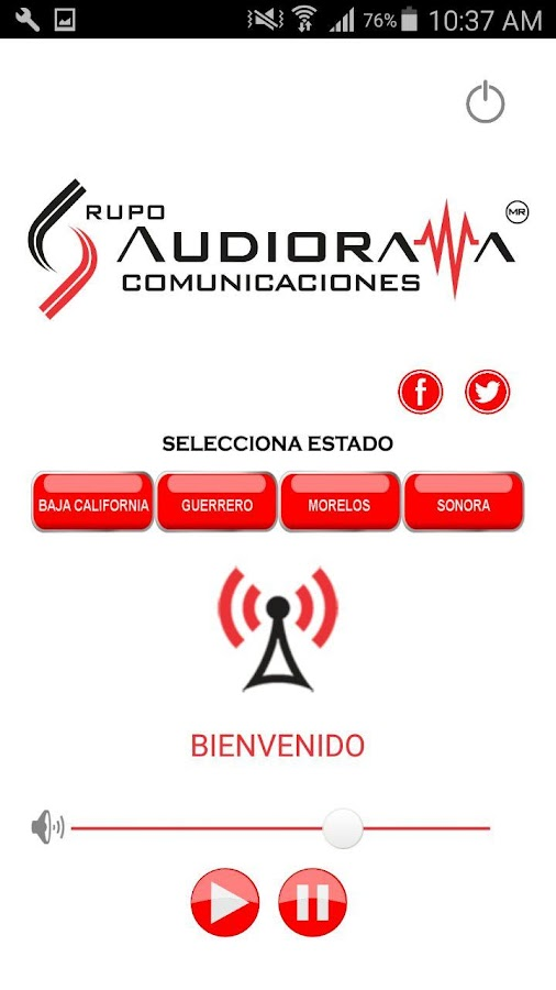 Audiorama Comunicaciones- screenshot