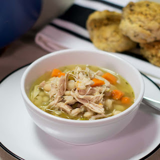 Chicken Stew with Great Northern Beans.