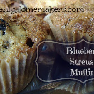 Whole Wheat Blueberry Streusel Muffins (plus a little project announcement)