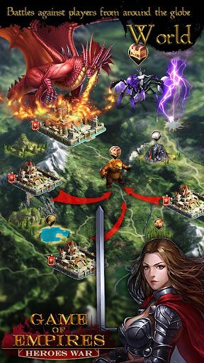 Game Of Empires : Heroesu2018 War  captures d'u00e9cran 2