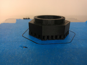 Photo: A-Mount flange, with support.