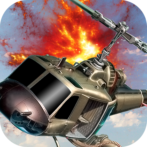 直升机射击战 - 打击 動作 App LOGO-APP開箱王