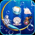 Sea Mermaid Theme Wallpaper apk