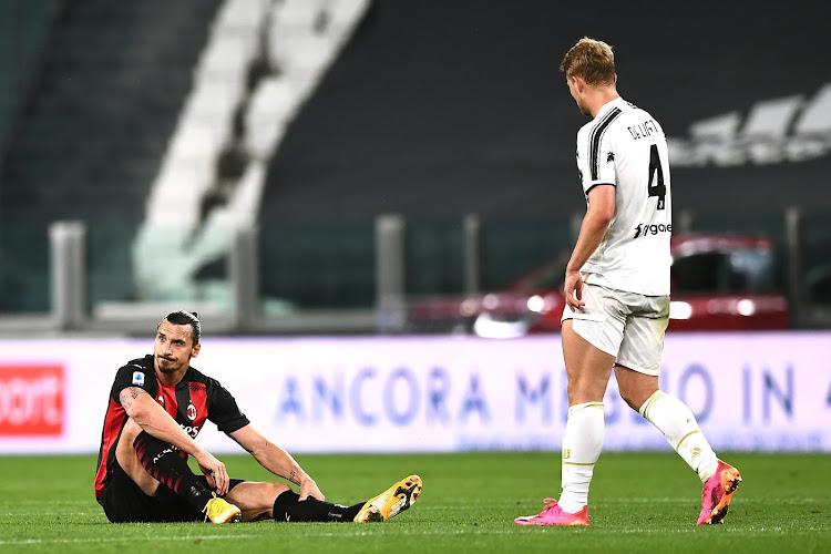 Fin de saison pour Zlatan Ibrahimovic