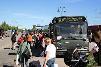 Photo: #21275: KF96976 ved Hamar stasjon, 02.06.2007.