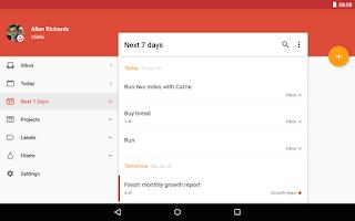 Screenshot of Todoist: To-Do List, Task List