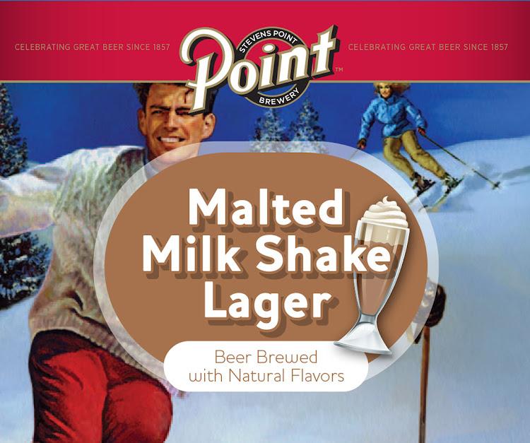 Logo of Point Malted Milk Shake Lager