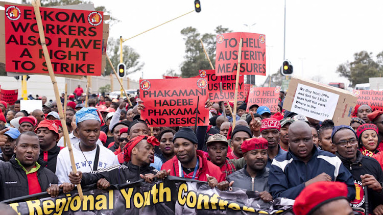 Negotiations between Eskom and unions have dragged on for more than two months.
