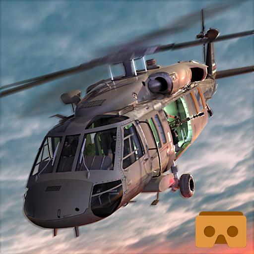 VR Helicopter Super Battle 3D