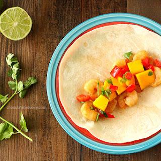 Asian Shrimp Tacos with Mango Salsa
