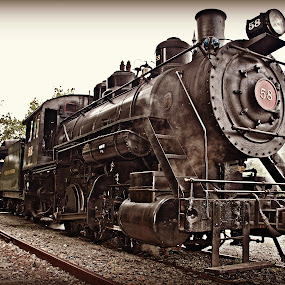 by Alice Gipson - Transportation Trains ( steam locomotive, wilmington delaware, alicegipsonphotographs, train, land, device, transportation )