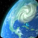 Wind Map 🌪 Hurricane Tracker (3D Globe & Alerts) icon