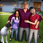 Virtual Grandpa: Happy family Simulator Icon