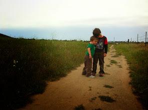 Photo: Cute Brothers Hike