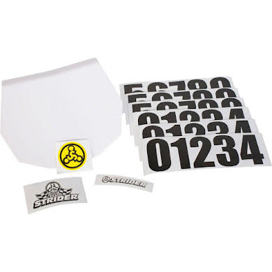 Strider Sports Number Plate Kit