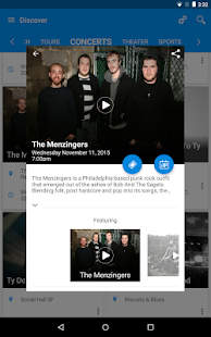 eventseeker - events, concerts- screenshot thumbnail