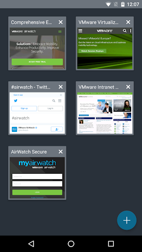 VMware Browser 6.11.0.27 screenshots 3