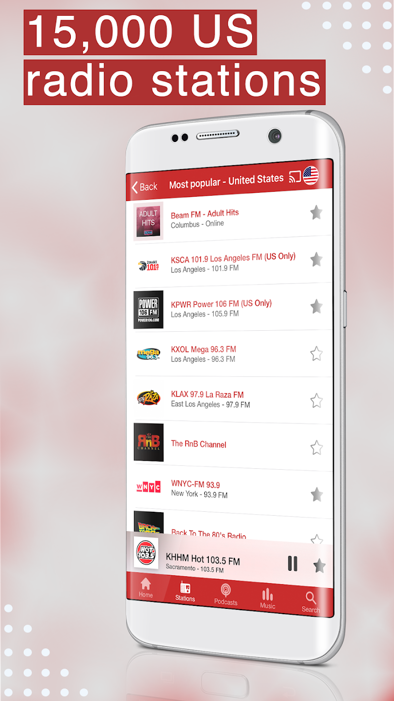 myTuner Radio App: FM Radio + Internet Radio Tuner Screenshot 2