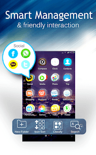 C Launcher: Themes, Wallpapers, DIY, Smart, Clean- screenshot thumbnail